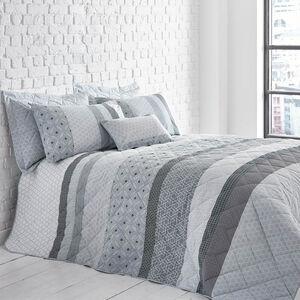 George Geo Grey Bedspread 200cm x 220cm