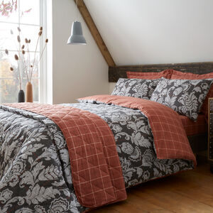 SINGLE DUVET COVER Brushed Cotton Aine Terra