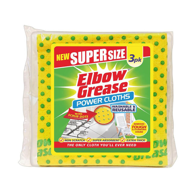 Elbow Grease Cloths 3 Pack