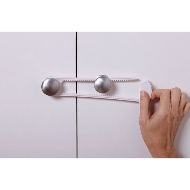 Sliding Cabinet Locks with Clip