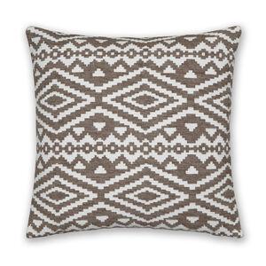 Aztec Cushion 45x45cm - Natural
