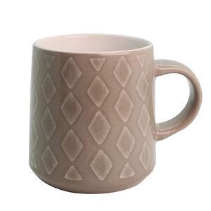 Heritage Diamond Grey Mug