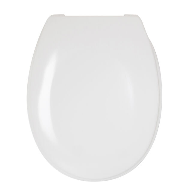 Slow Close Toilet Seat White