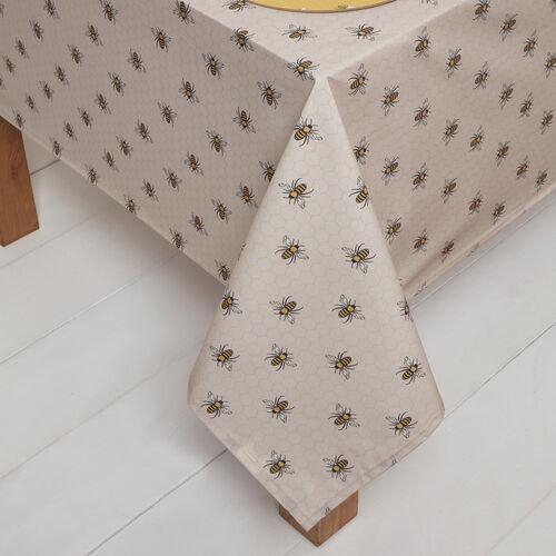 Honey Bees PVC Table Cloth 160x230cm