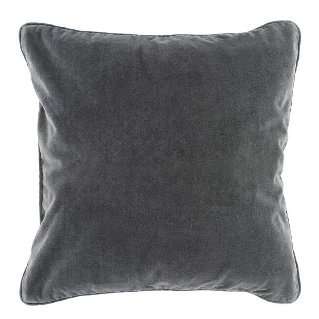 Naomi Cushion 58x58cm - Charcoal