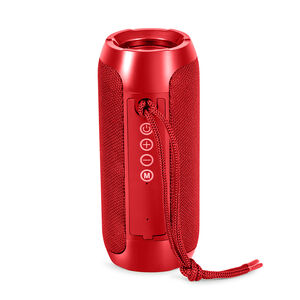 Sonarto 10W Bluetooth Barrel Speaker - Red