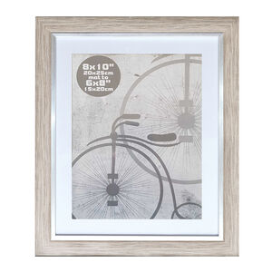 Silver Grey Photo Frame 8x10""