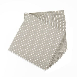Polka Spot Natural 20 Pack - Natural