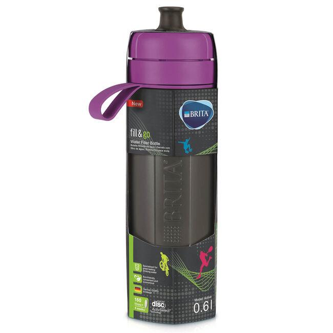Brita Fill & Go Active Water Bottle - Purple