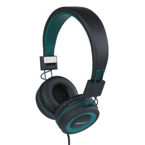 Intempo Vivid Black/Green Headphones