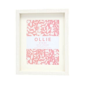 "Ollie Photo Frame 8x10"" - Stone"