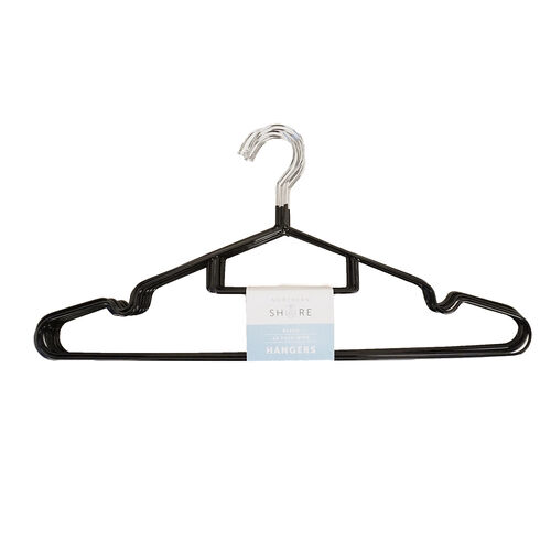 Northern Shore Wire Hangers 10 Pack - Black