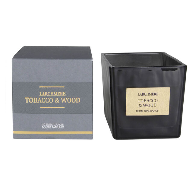Larchmere Tobacco & Wood Scented Candle
