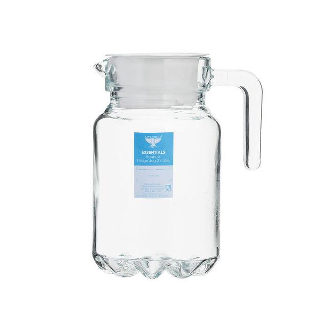 Essential Hobnobs Glass Jug 0.7L