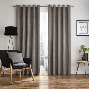 LISNALEE NATURAL 66x54 Curtain