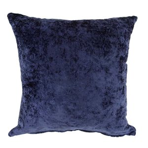 Velvet Crush Cushion Cover 2 Pack 45x45cm - Navy