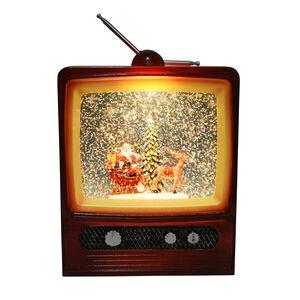 Light up Musical Christmas TV Scene