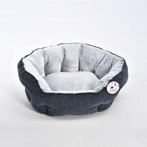 Soft Plush Chenille Pet Bed - Small