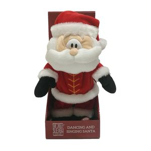 Dancing and Singing Santa