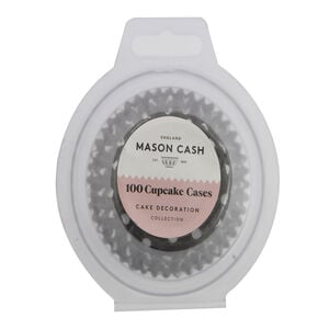 Mason Cash 100 Monochrome Cupcake Cases