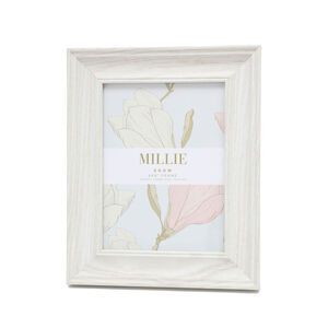 "Millie Photo Frame 6x8"" - Snow"