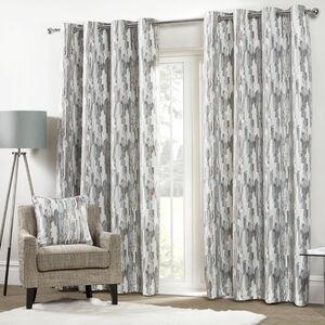 ETCH DUCK EGG 66x54 Curtain