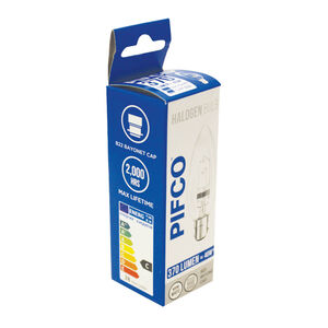Pifco Halogen 28W Candle Bulb (BC)