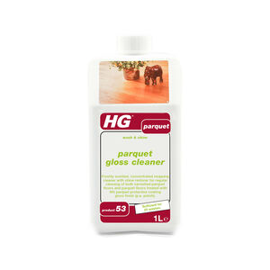 HG Parquet & Wooden Floor Cleaner 1L