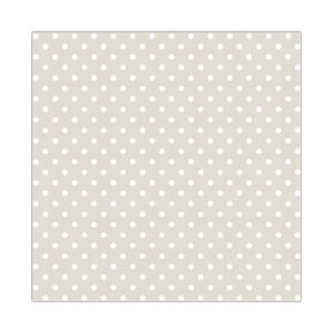 Polka Spot Natural Napkins 20 Pack