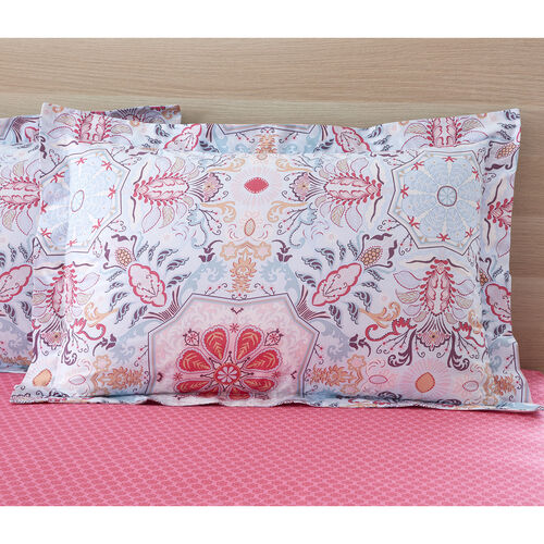 Alannah Oxford PIllowcase Pair - Pink