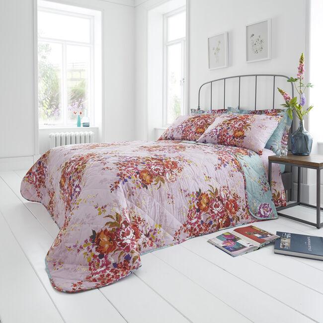 Sadie Bedspread 200x220cm - Blush