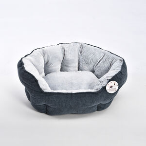 Soft Plush Chenille Pet Bed - Large