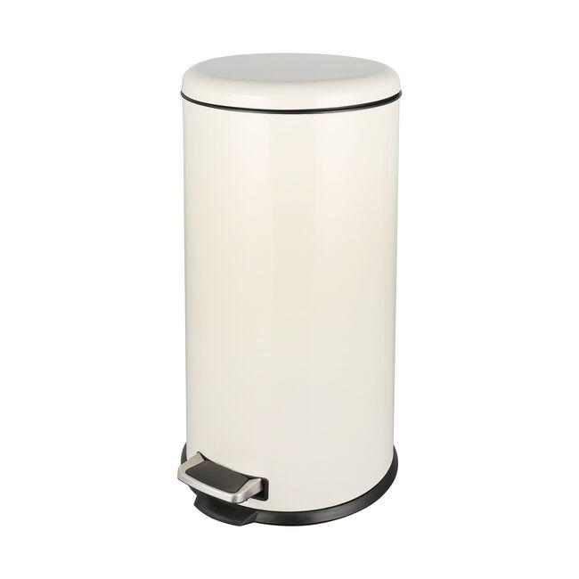 Forma 30L Cream Pedal Bin