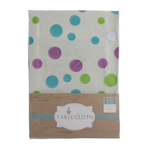 Polka Dots Multi Table Cloth 160cm x 230cm