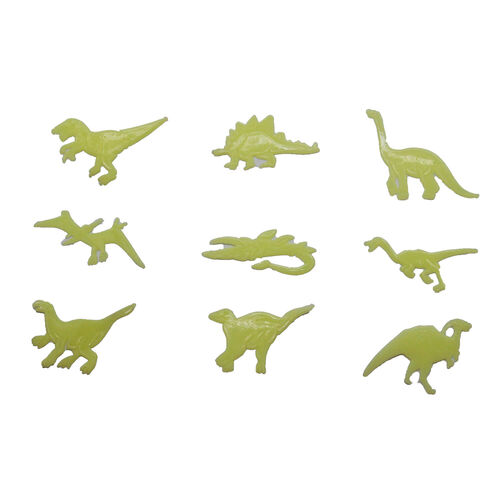 Glow In The Dark Dinosaur Stick-Ons
