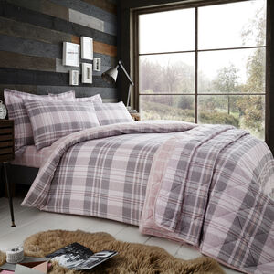 Brushed Cotton Bartragh Duvet Cover
