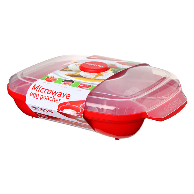 Sistema Microwave 4 Egg Poacher