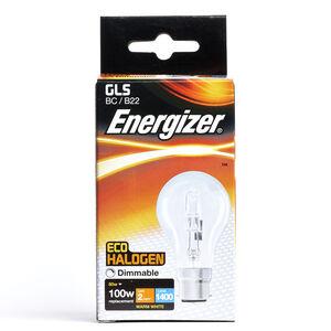 Eco Clear GLS BC (B22) 1 Halogen Bulbs 80W