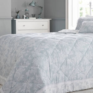 Millie Duck Egg Bedspread  200cm x 230cm