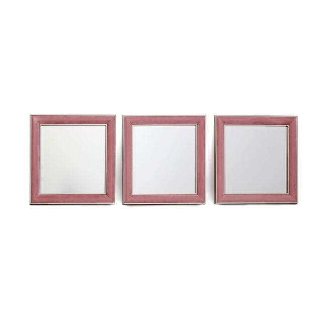 Mirror Set 3 Piece - Pink