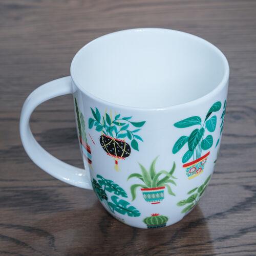 Plants Bone China Mug