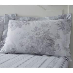 Whitney Oxford Pillowcase Pair - Grey