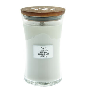 WoodWick Warm Wool Large Candle Jar