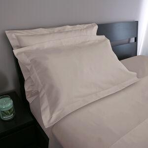 Oxford 500 Threadcount Cotton Pillowcase Pair