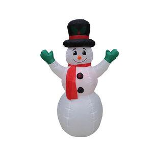 Inflatable Light Up Snowman - 1.4m