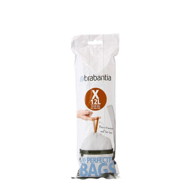 BraBantia Perfect Fit 20 Bin Liners 10-12L (X)