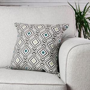 Sarmates Hunter/Green Cushion 45cm x 45cm