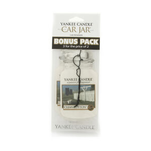 Yankee Candle Clean Cotton Car Jars