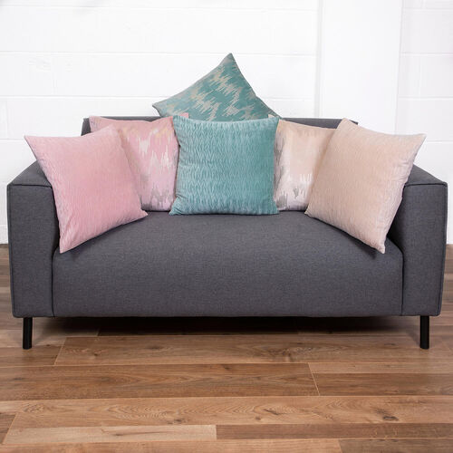Velvet Crush Cushion 58x58cm - Pink