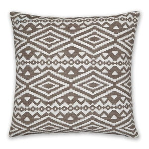 Aztec Cushion 58x58cm - Natural